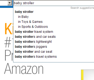 amazon search