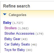 ebay refine search