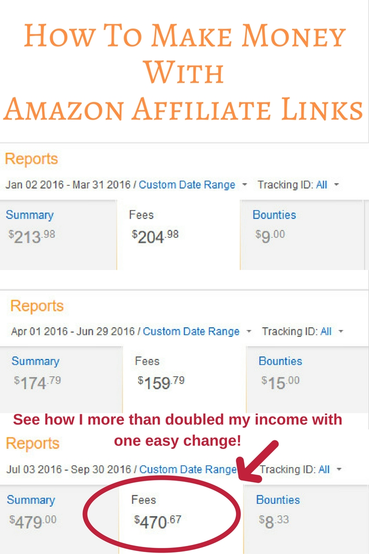 Wondering if you can make money with Amazon affiliate links? Let me show you how to make the best of the Amazon affiliate program.
