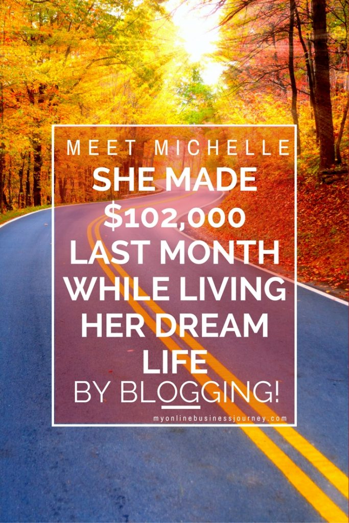 Michelle of Making Sense of Cents and her hubby RV full time, and she makes more money in a month than others make in an entire year. Want to know how she does it? Come on over and read my interview with her, where she shares a bit from her journey.