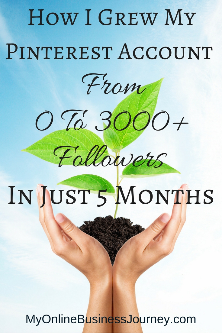 Want more Pinterest followers? Find out how I went from 0 to 3000+ followers on Pinterest in just 5 months!